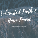 Exhausted Faith and Hope Found in A Red Sea Revival